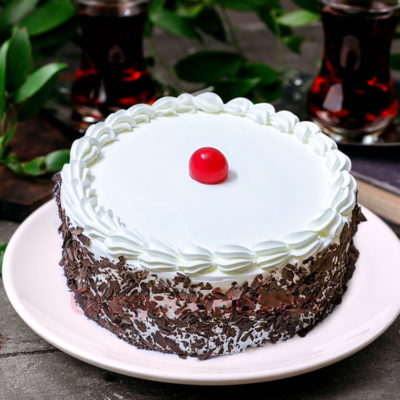 online cake order for classy black forest beauty