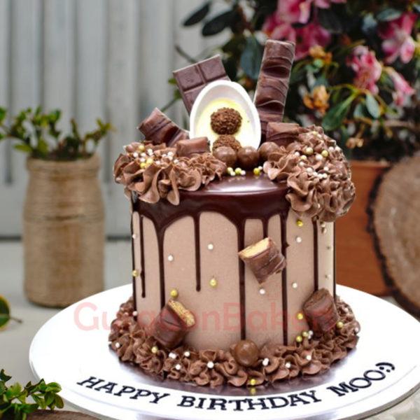ott choco drip cake