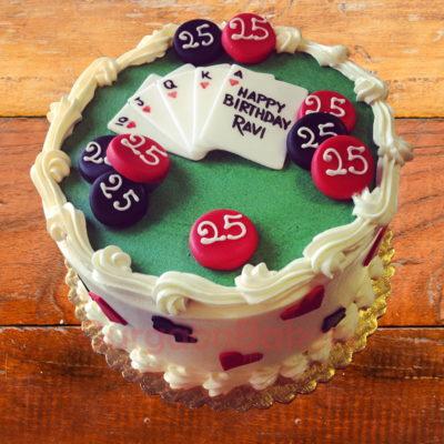 simply cards cake