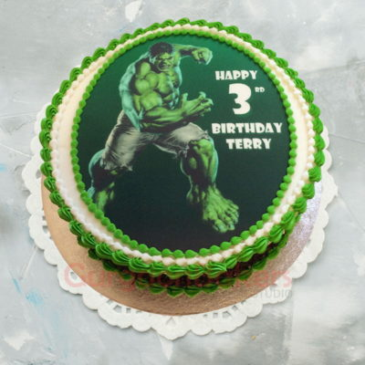 smashtastic hulk cake
