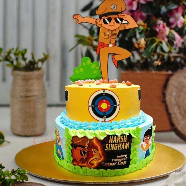 action-packed-little-singham-cake