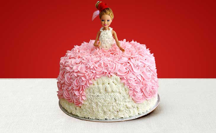 Order the Best Barbie Cake in Gurgaon from Gurgaon Bakers