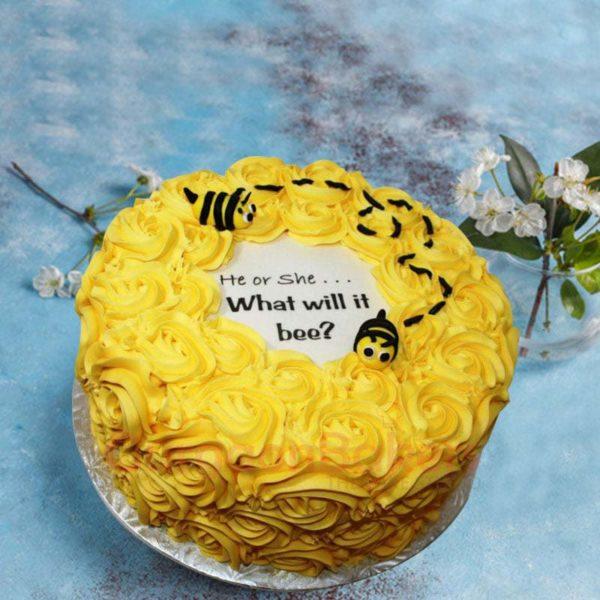 bee-baby-shower-cake