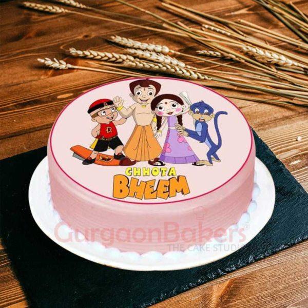 chhota-bheem-and-close-friends-cake