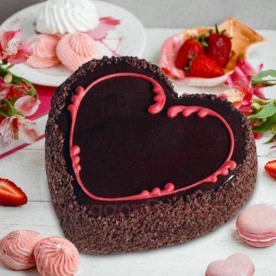 chocolate-heart-cake