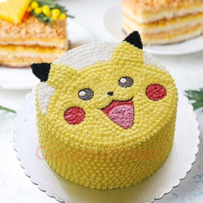 fluffy-pikachu-cake