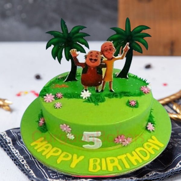 motu patlu duo cake