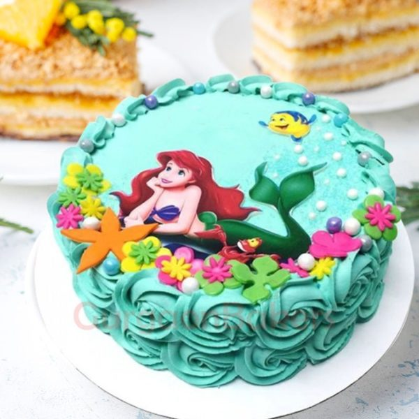 mystical under the sea cake