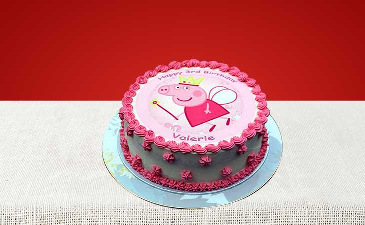 Order the Most Stylish and Tasty Peppa Pig Cake in Gurgaon