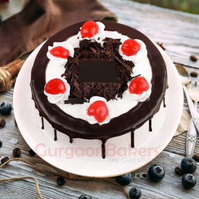 special black forest cake for new year