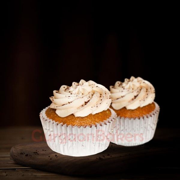 Aromatic coffee cupcakes