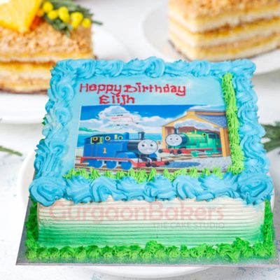Choo Choo Thomas and Friends Cake