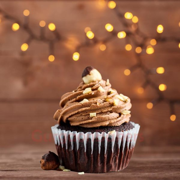 Nutella Hazelnut Cupcakes