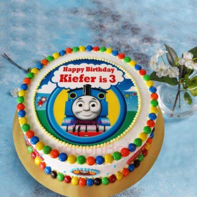 Thomas the Tank Engine Gems Cake
