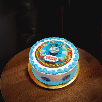 Thomas the Tank Engine Photo Cake