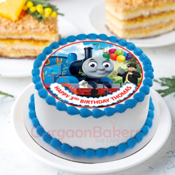 Thomas Train Cake for Kids
