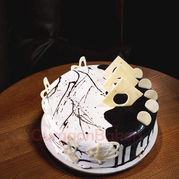 Vanilla Chocolate Combo Cakes