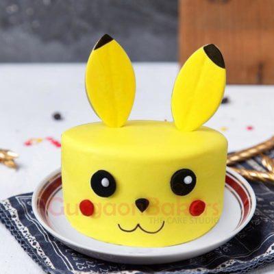 3d Pikachu cake