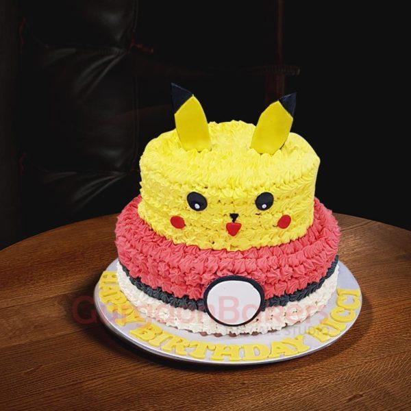 3D Pokémon cake