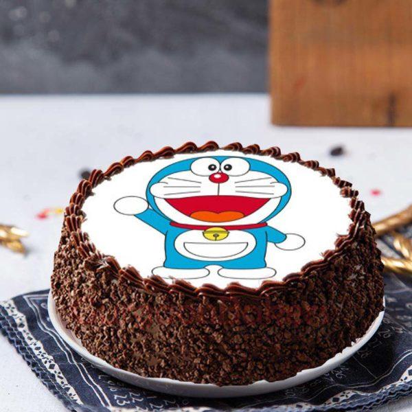 chocolate-doremon-cake