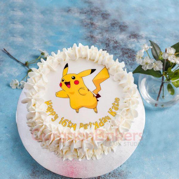 Cute Pickachu Cake