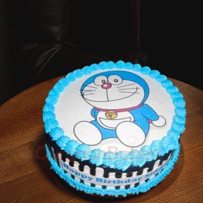 Doremon photo cake