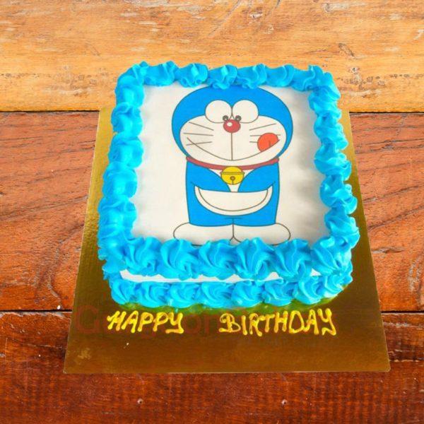 Small Doremon Cake