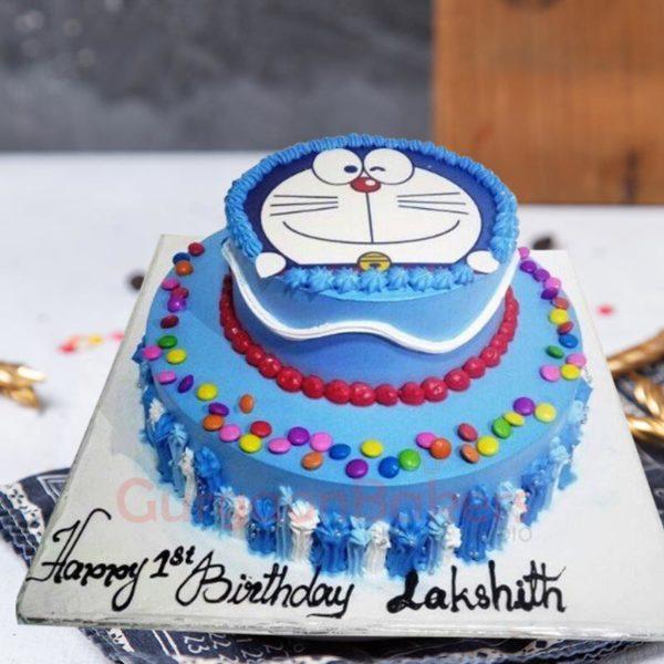 Tier Doremon Cake