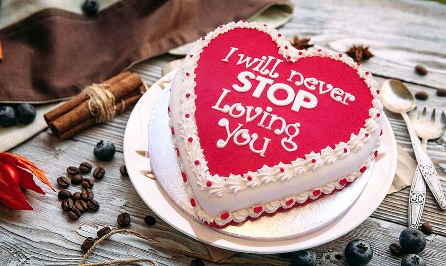 valentine day cake delivery in delhi