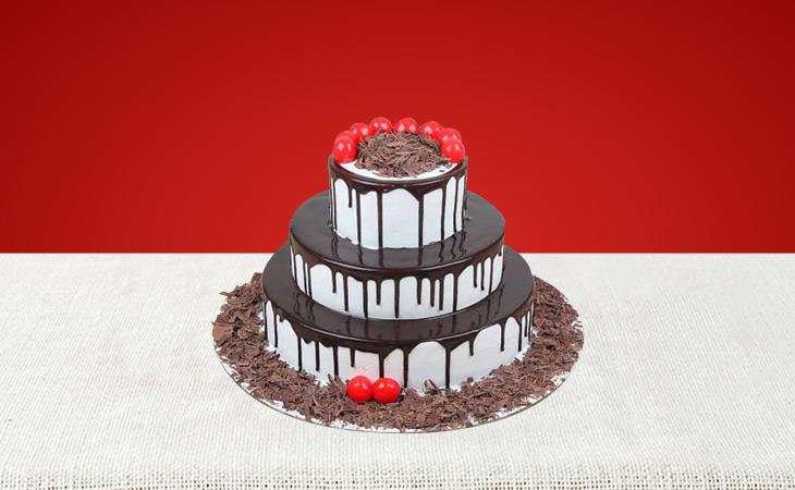 Tier Anniversary Cakes