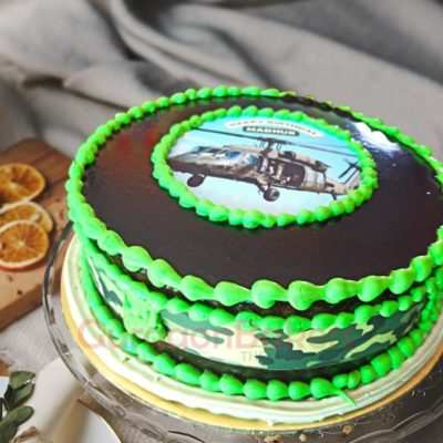 Chopper Mission Rescue Cake