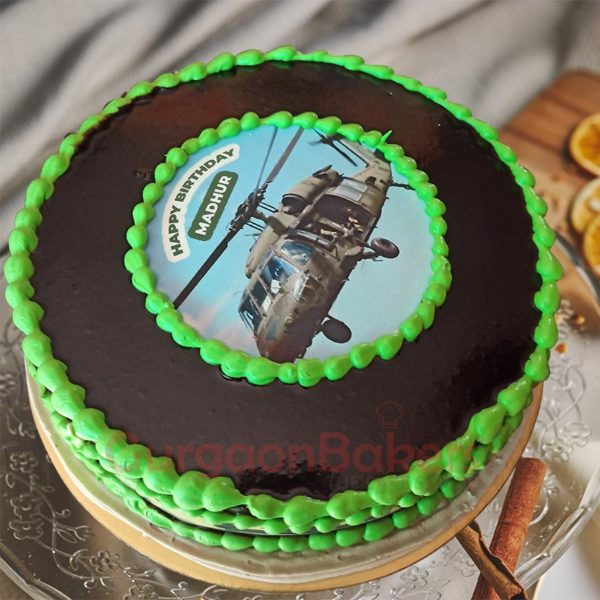 Chopper Mission Rescue Cake