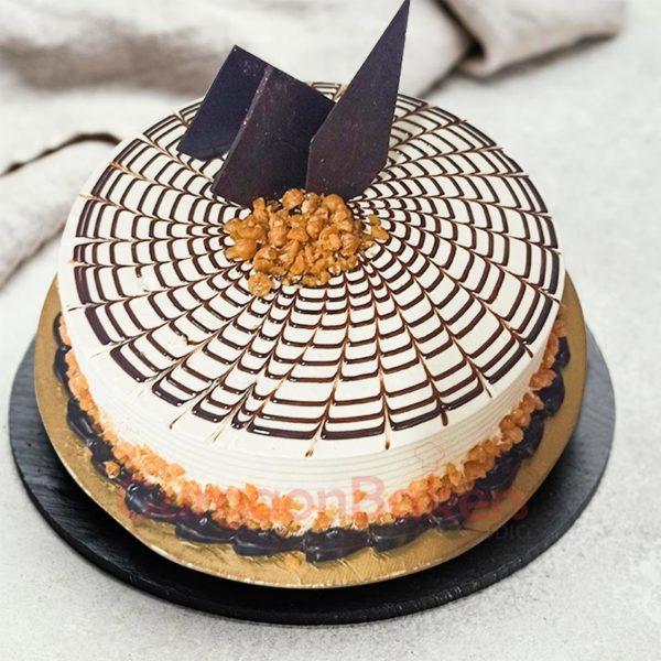 Crunchy Butterscotch Party Cake