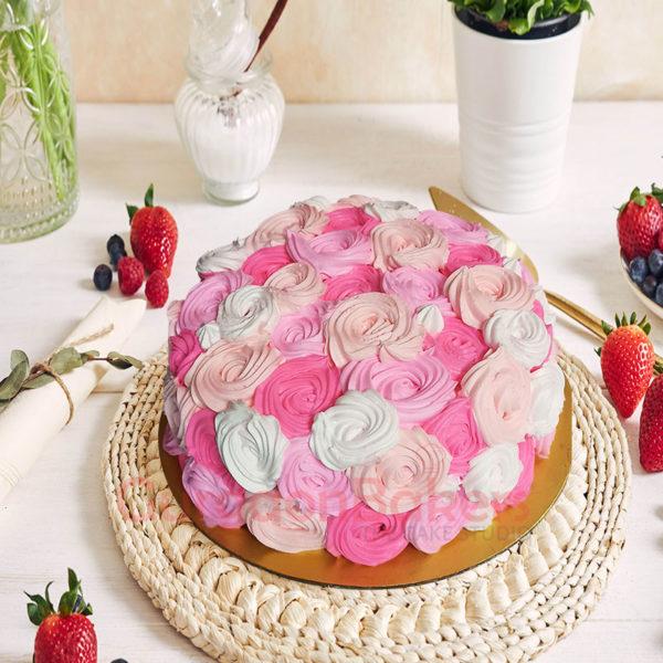 Dreamy Pink Wink Cake