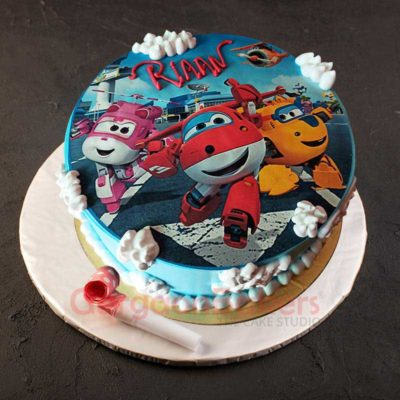 Kids Planes Cake