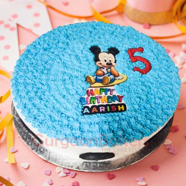 Mickey Mouse Special Birthday Cake