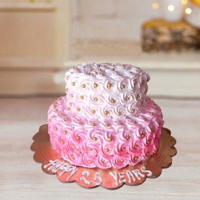 Pink Carnival Cake