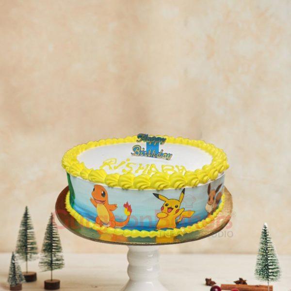 Pokemon Friends Cakes