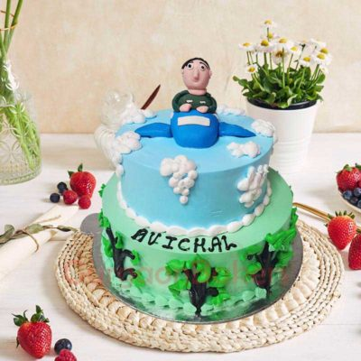 army-fighter-plane-cake-2