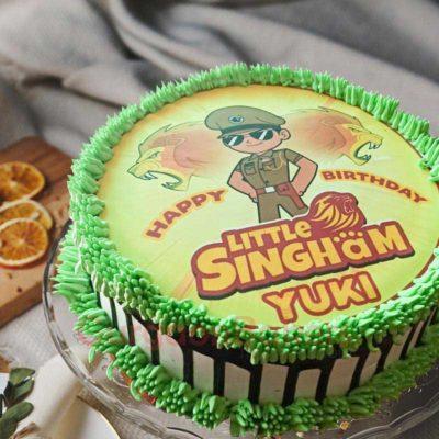 Roaring Little Singham Cake