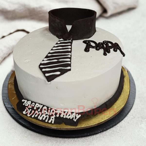 Shirt and Tie Cake for Dad