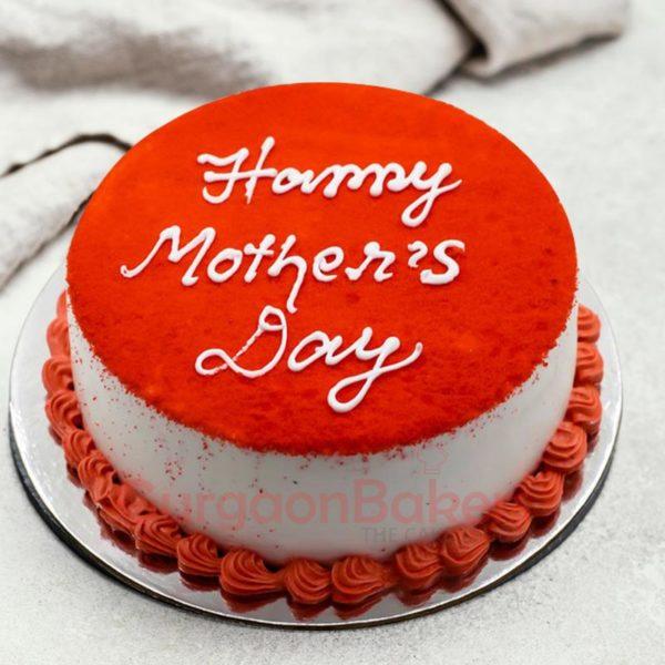 Stunning Red Velvet Cake for Mother's Day