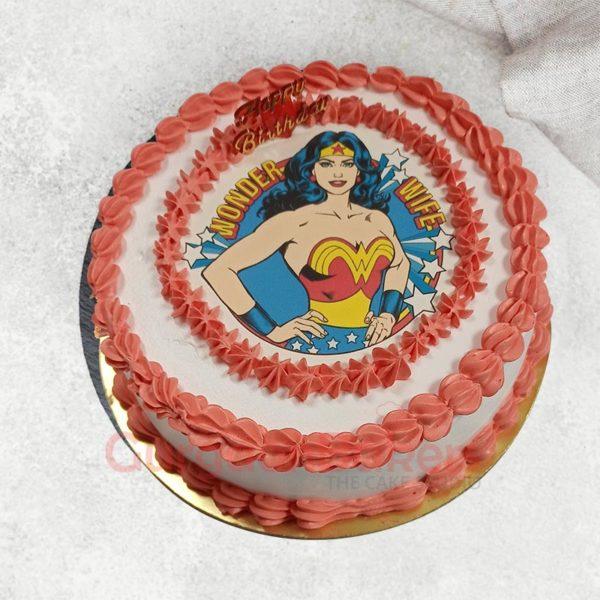 Wonder Wife Cake