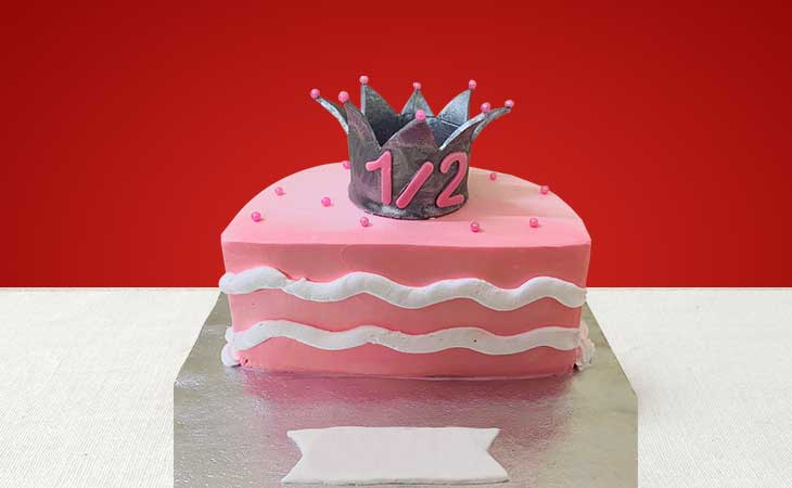 Half Birthday Cakes in Gurgaon