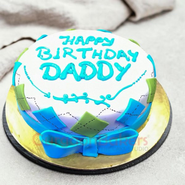 Awesome Dad Cake Side View