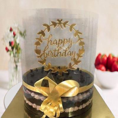 Chocolate Waterfall Cake
