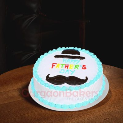 Classy Daddy Father's Day Cake