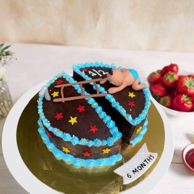 Crawling to One Cake