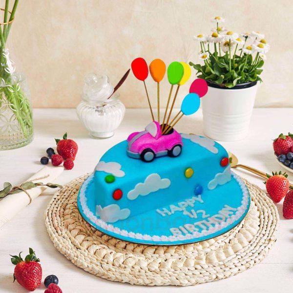 Half Way to One Cake