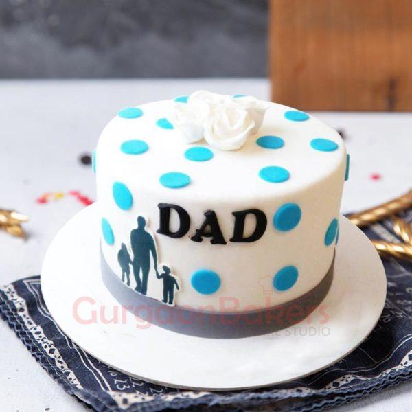 I Heart Dad Cake